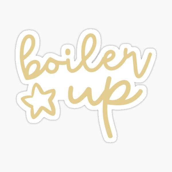 Purdue Boiler Up Sticker