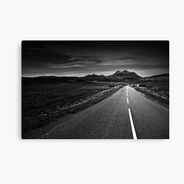 the road to Torridon Canvas Print