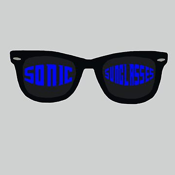 Sonic Sunglasses by incendiarywit