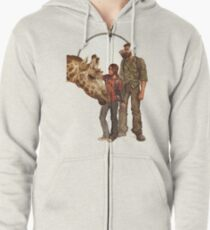 The Last of Us - Giraffe Zipped Hoodie
