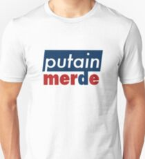Putain, Merde Slim Fit T-Shirt