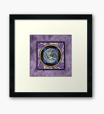 Interconnectivity Framed Print