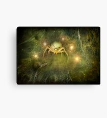 Brian and the Spider Queen... Canvas Print