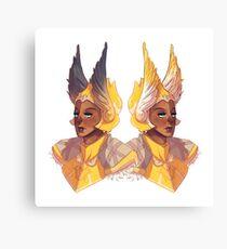 Lemon Gladiators Canvas Print