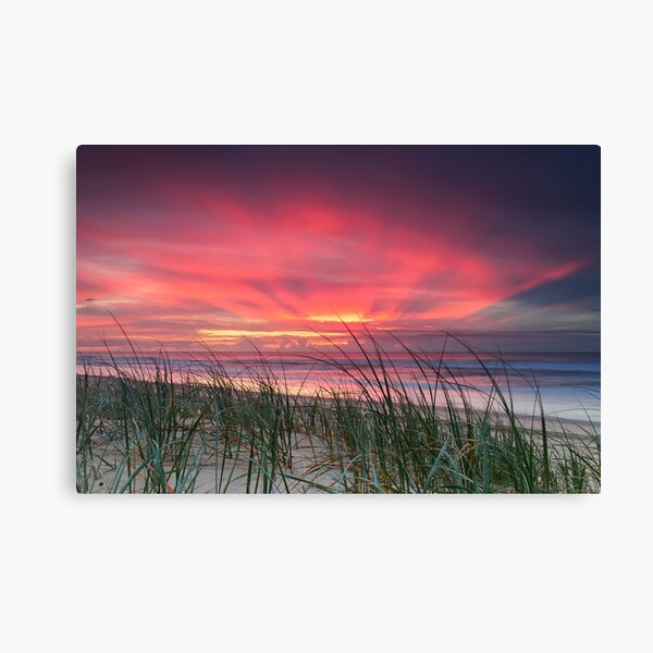 Pink Sunrise - Yaroomba Beach, Qld Canvas Print