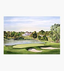 Congressional Golf Course Photographic Print