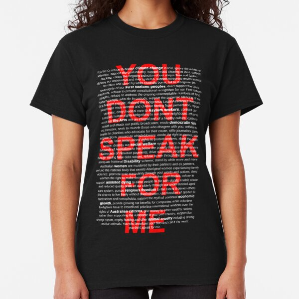 You Dont Speak For Me Black Classic T-Shirt