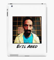 Evil Abed iPad Case/Skin