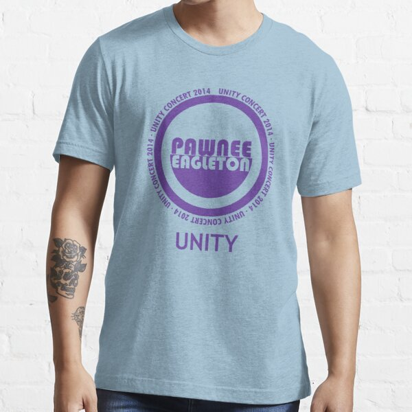Pawnee-Eagleton unity concert 2014 Essential T-Shirt