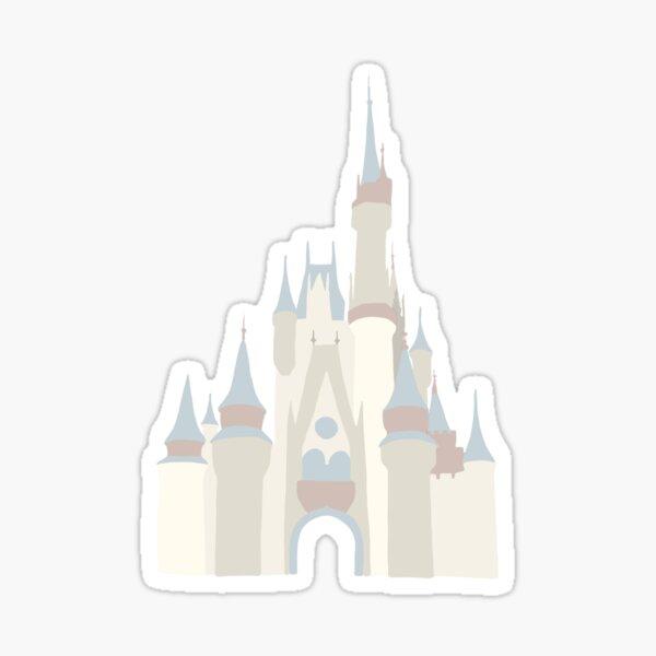 Cinderella's castle Sticker