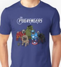 The Pugvengers Unisex T-Shirt