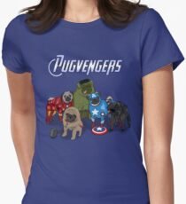 The Pugvengers Women's Fitted T-Shirt