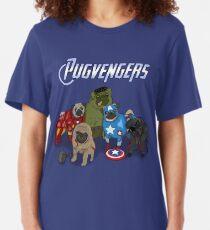 The Pugvengers Slim Fit T-Shirt