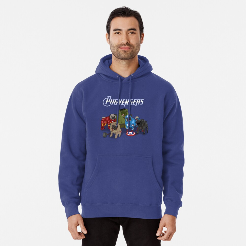 The Pugvengers Pullover Hoodie