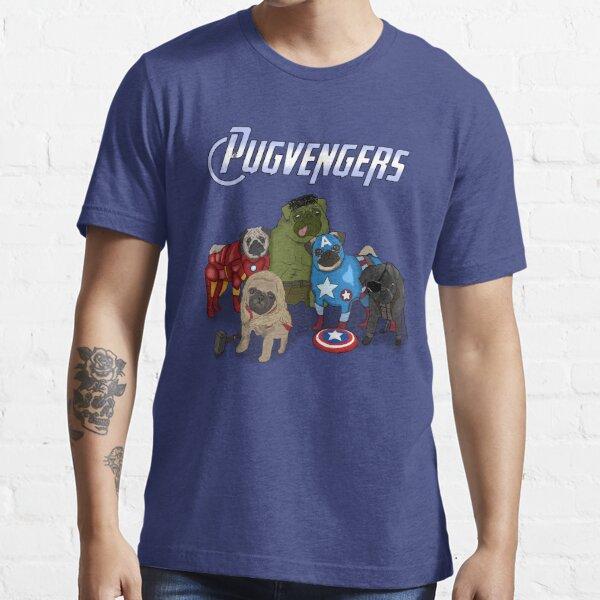 The Pugvengers Essential T-Shirt