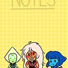 Steven Universe Homeworld gems by charmaise