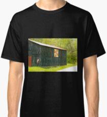 Kentucky Barn Quilt - July Summer Sky Classic T-Shirt