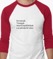 U2: Band Member Names T-Shirt