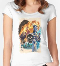 The Venture Bros.  Women's Fitted Scoop T-Shirt