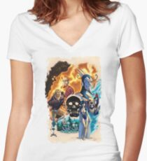 The Venture Bros.  Women's Fitted V-Neck T-Shirt