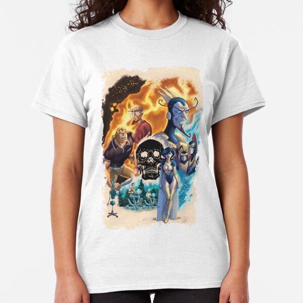 NWT CRAZY 8 Snowboarding Penguin Bright Blue L//S Winter Trans Top T-Shirt