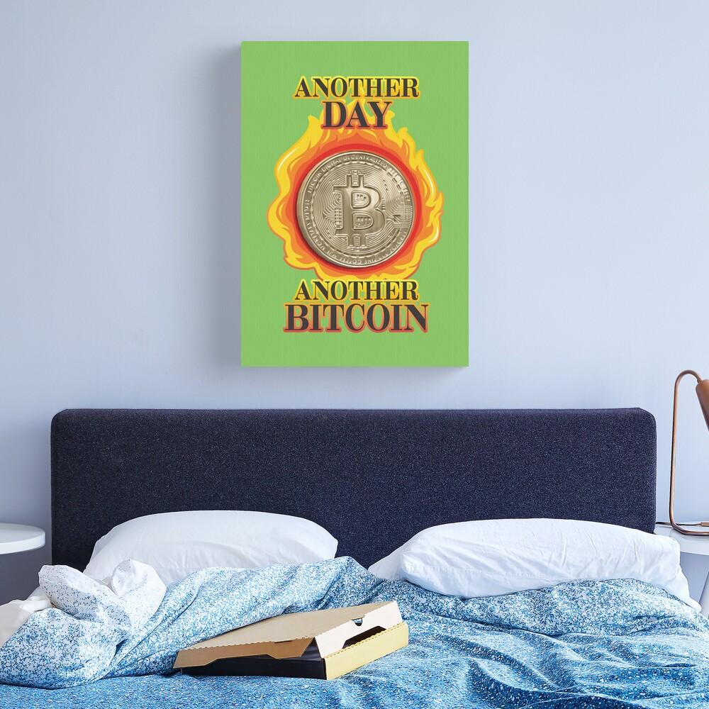 Bitcoin Investor. Canvas Print