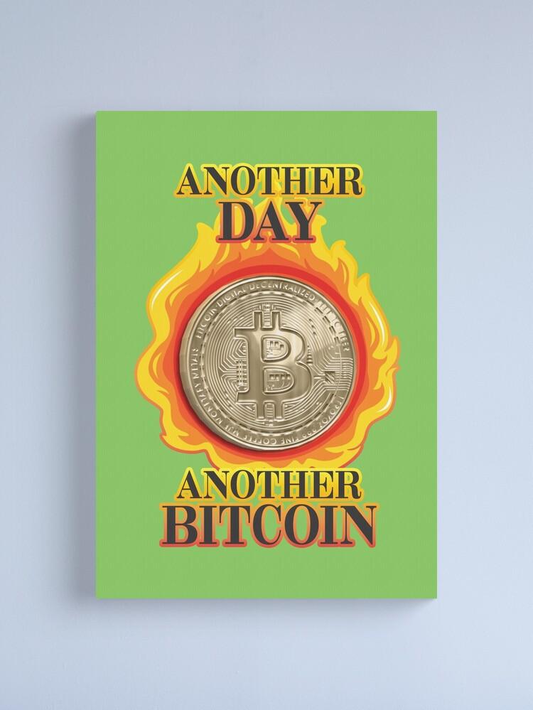 Alternate view of Bitcoin Investor. Canvas Print