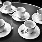 Five cups. by Victor Pugatschew