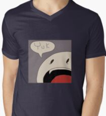 Punchline Yuk Men's V-Neck T-Shirt