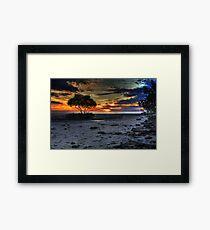 Beautiful moments at Hervey Bay Framed Print