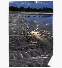 Hervey Bay beach Poster