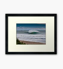 Wollongong City Beach Framed Print