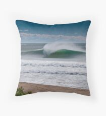 Wollongong City Beach Throw Pillow