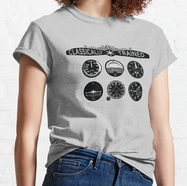 Classically Trained Six Steam Gauges Classic T-Shirt