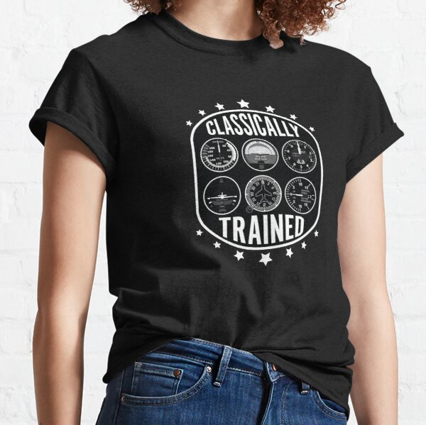 Classically Trained Six Steam Gauges 2 Classic T-Shirt