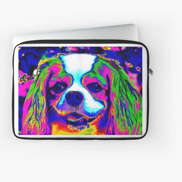 Mardi Gras Dog Laptop Sleeve