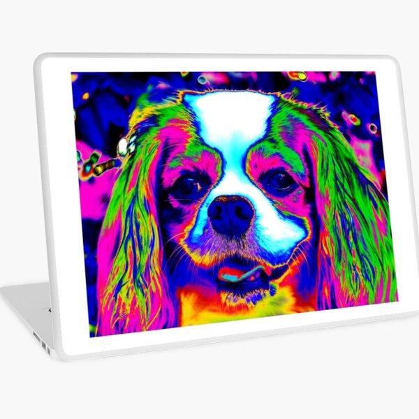 Mardi Gras Dog Laptop Skin