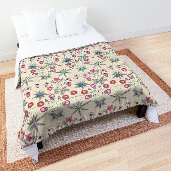 William Morris Pattern - Flowers Comforter