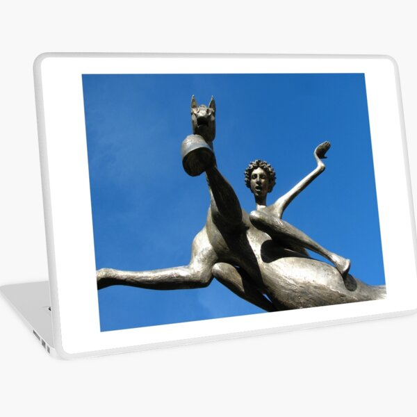 Leaping Into The Sky Laptop Skin