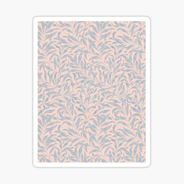 William Morris Pattern - Leaves Sticker