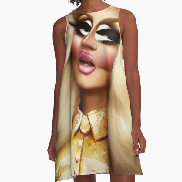 Luxury Trixie Mattel A-Line Dress