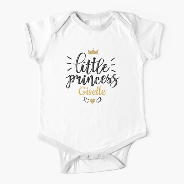 Little princess Giselle Short Sleeve Baby One-Piece
