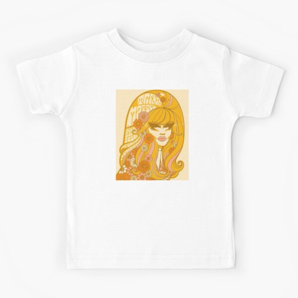 Yellow Flowers Trixie Kids T-Shirt