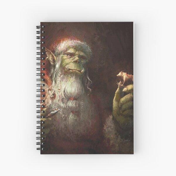 The Little Wooden Warg Spiral Notebook