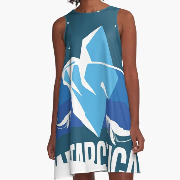 antarctica A-Line Dress