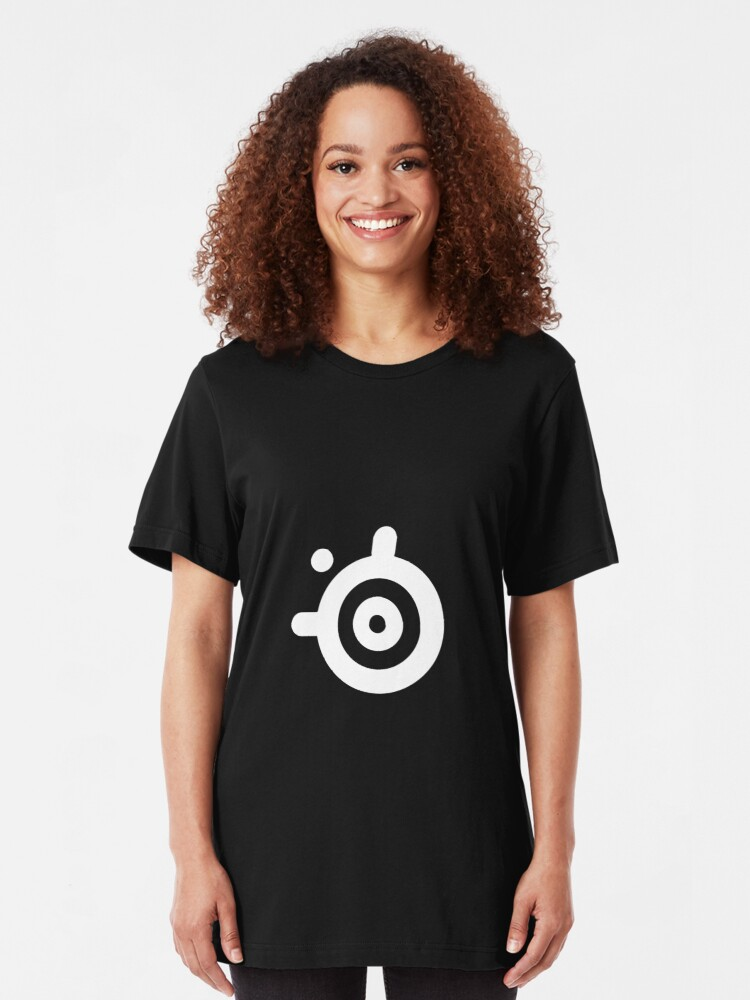 Alternate view of SteelSeries Logo Slim Fit T-Shirt