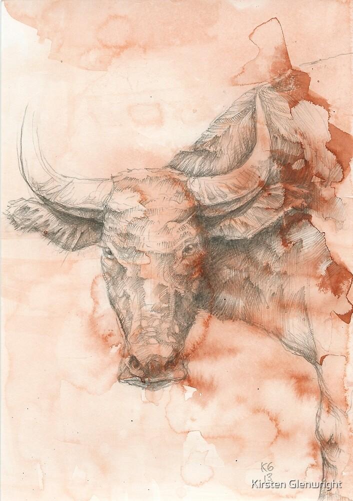 Chinese Zodiac - The Buffalo by Kirsten Glenwright