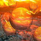 Spheres of Fire by Ljartdesigns