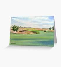 Shinnecock Hills Golf Course Greeting Card