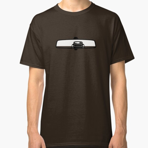 Bullitt Mustang in rear view mirror Classic T-Shirt